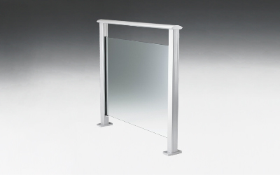 Framed Glass Balustrade - Spectra Style